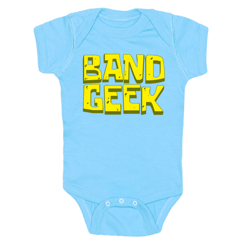 Band Geek Baby Onesy