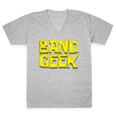 Band Geek V-Neck Tee Shirt