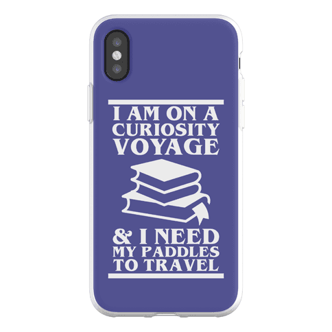 Curiosity Voyage Phone Flexi-Case