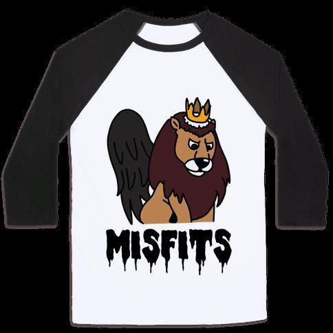 Misfits Moonracer Baseball Tee