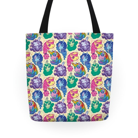 Unicorn Penis Pattern Tote
