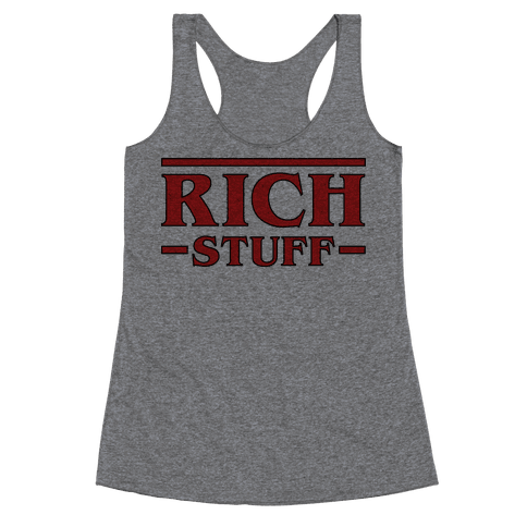Rich Stuff Racerback Tank Top