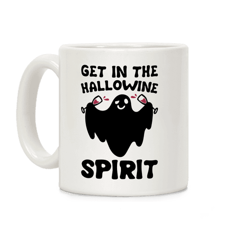 Get in The Hallowine Spirit Coffee Mug