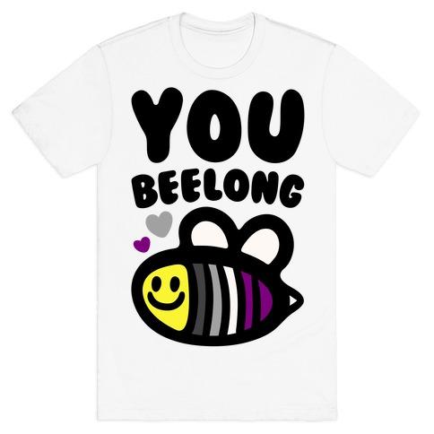 You Belong Asexual Pride T-Shirt