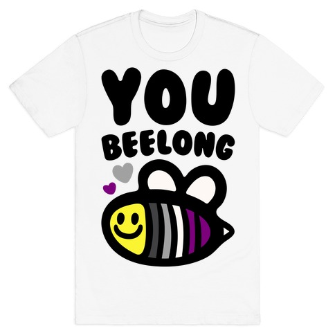 You Belong Asexual Pride T-Shirt