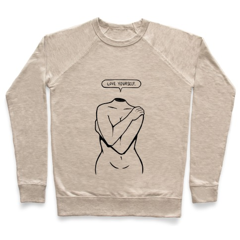 Love Yourself Plus (black) Pullover