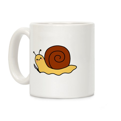 Snail With Knife Coffee Mug