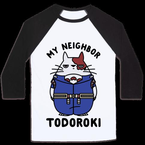 My Neighbor Todoroki Baseball Tee