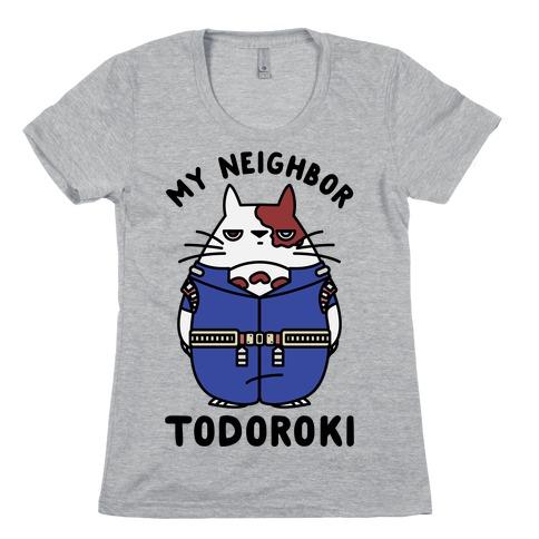 My Neighbor Todoroki Womens T-Shirt