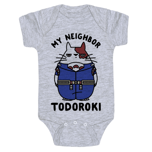 My Neighbor Todoroki Baby Onesy