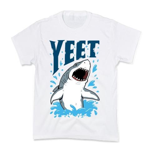 YEET shark Kids T-Shirt