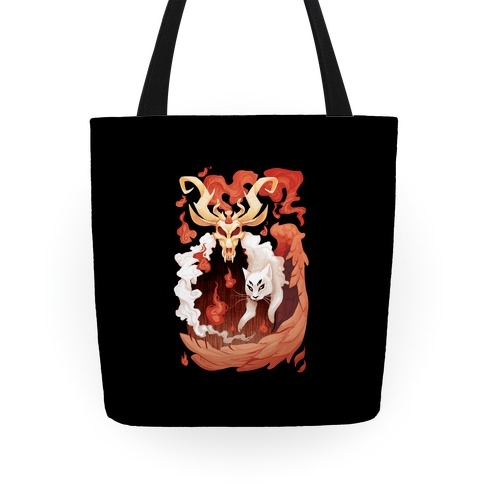 Demon's familiar Tote