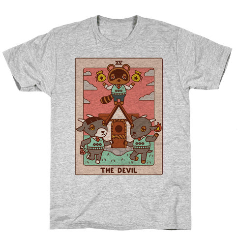 The Devil Tom Nook Mens/Unisex T-Shirt