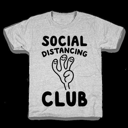 Social Distancing Club Kids T-Shirt