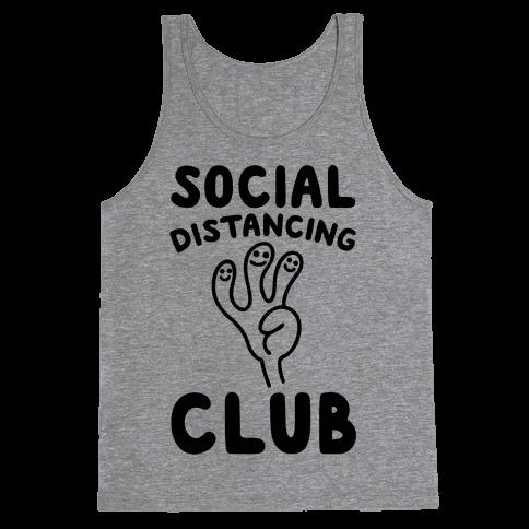 Social Distancing Club Tank Top