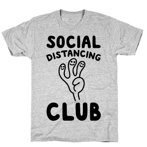 Social Distancing Club T-Shirt