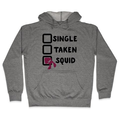 Single Taken Squid Parody Hooded Sweatshirt