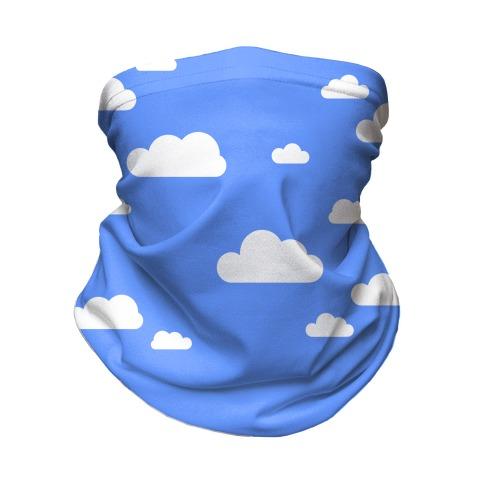 Fluffy Clouds Neck Gaiter