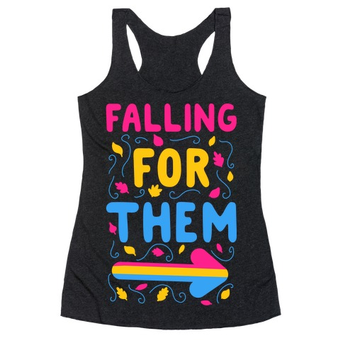 Falling for Them Racerback Tank Top