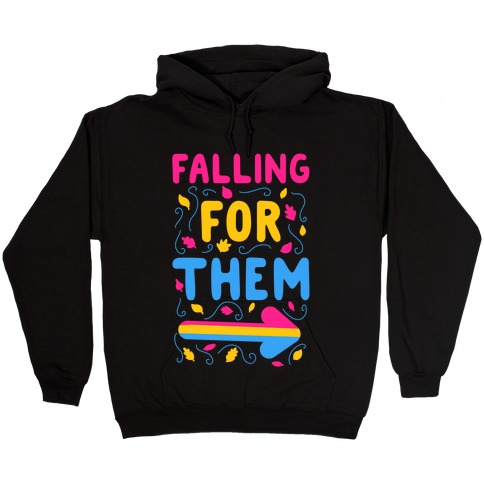 Falling for Them Hooded Sweatshirt