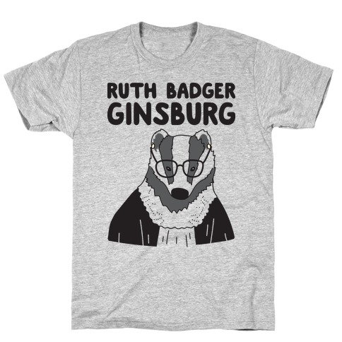 Ruth Badger Ginsburg Mens T-Shirt
