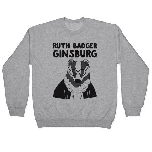 Ruth Badger Ginsburg Pullover