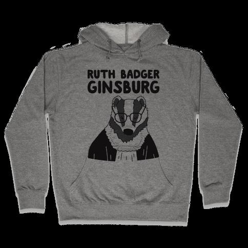Ruth Badger Ginsburg Hooded Sweatshirt