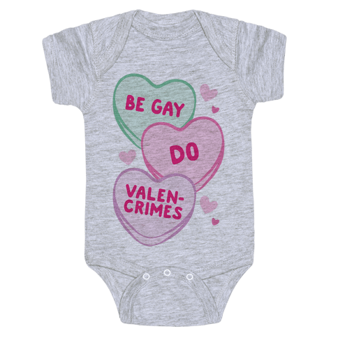 Be Gay Do Valencrimes Parody Baby Onesy