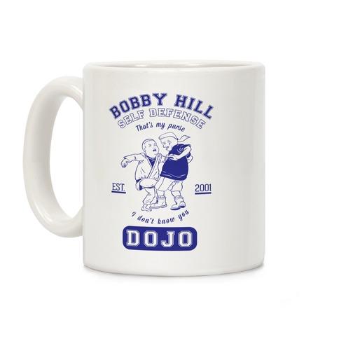 Bobby Hill Self Defense Dojo Coffee Mug