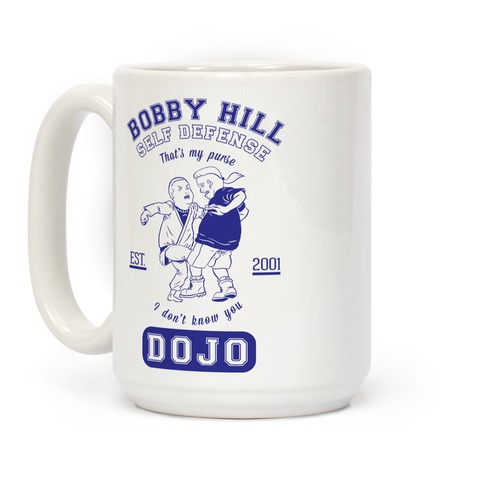 Bobby Hill Self Defense Dojo Coffee Mug