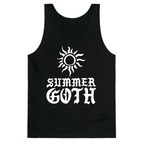 Summer Goth Tank Top