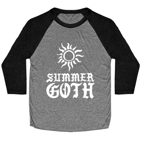 Summer Goth Baseball Tee