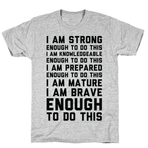 I am Enough To Do This AOC Speach T-Shirt