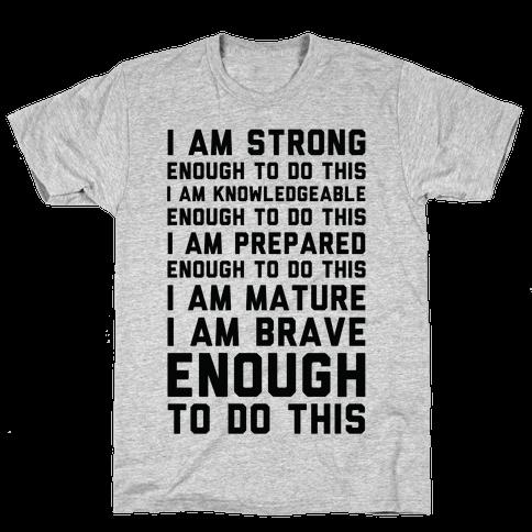 I am Enough To Do This AOC Speach Mens/Unisex T-Shirt