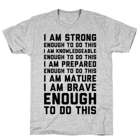 I am Enough To Do This AOC Speach T-Shirt