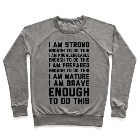 I am Enough To Do This AOC Speach Pullover