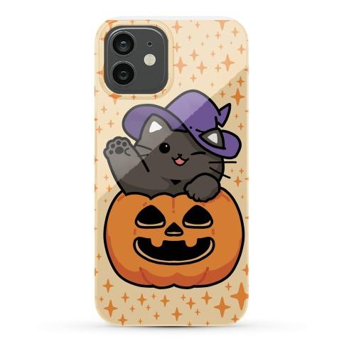 Cute Halloween Cat Phone Case