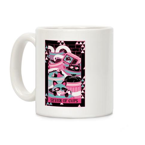 Creepy Cute Tarots: Seven Of Cups Coffee Mug