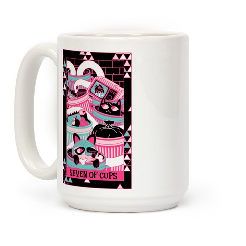 Creepy Cute Tarots: Seven Of Cups Coffee Mug