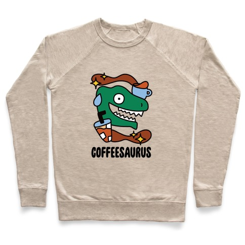 Coffeesaurus Pullover