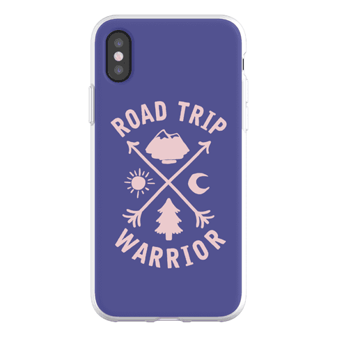 Road Trip Warrior Phone Flexi-Case