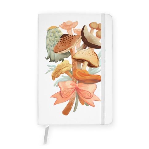 Bouquet Of Mushrooms Notebook