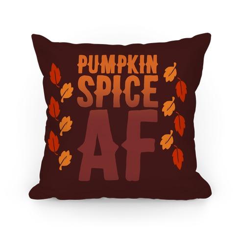 Pumpkin Spice Af Pillow