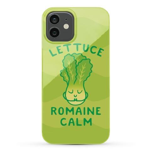 Lettuce Romaine Calm Phone Case