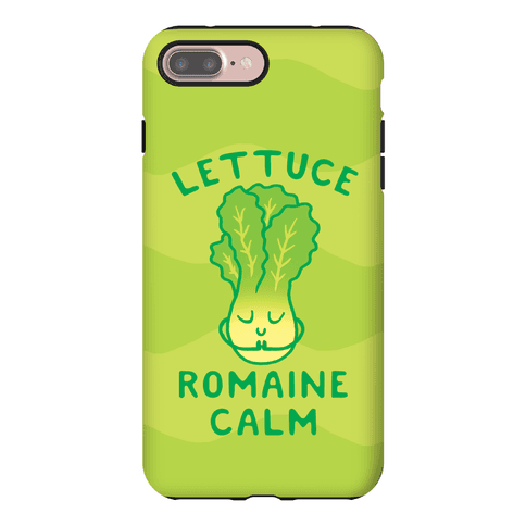 Lettuce Romaine Calm Phone Case