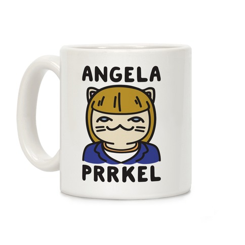 Angela Prrkel Parody Coffee Mug