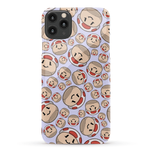 Stuffed Shrooms Pattern Phone Case