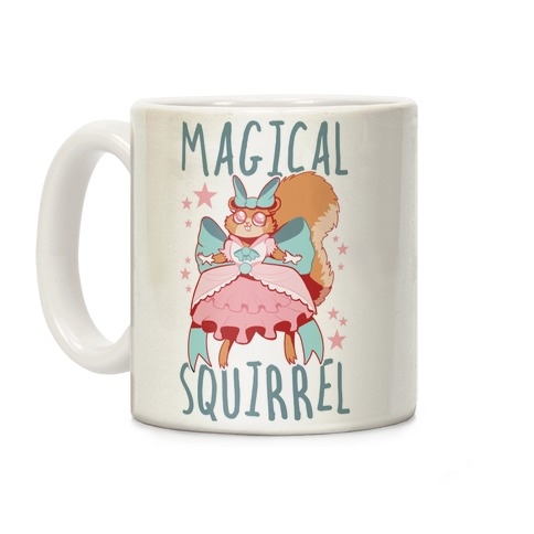 Magical Squirrel Coffee Mug