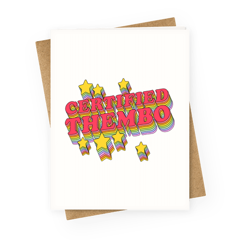 Certified Thembo  Greeting Card