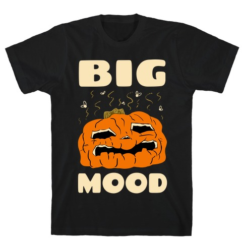 Big Mood Rotting Pumpkin T-Shirt